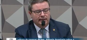 Relatório de Anastasia recomenda impeachment de Dilma; texto será votado sexta-feira em comissão do Senado