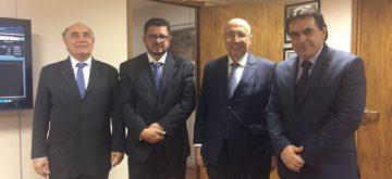 Deputado Domingos Sávio se reúne com Henrique Meirelles e defende Cemig no Ministério da Fazenda