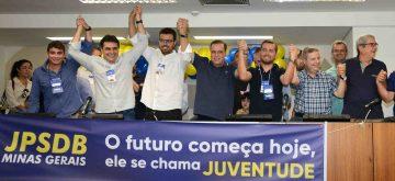 Vinícius Rodrigues e Ângelo Perucci assumem a presidência da Juventude do PSDB-MG