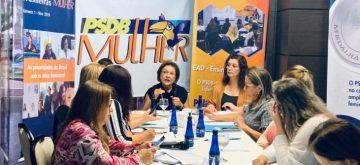 Grupo de trabalho definirá bandeiras do PSDB-Mulher para as eleições deste ano