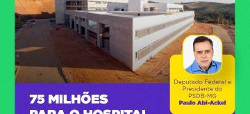 Obras do Hospital Regional de Valadares serão retomadas