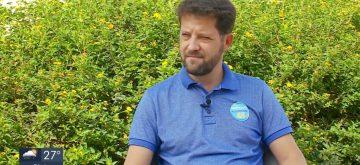 Candidato a Prefeito de Varginha, Anderson Martins, dá entrevista à Rede Globo e fala sobre seu plano de governo
