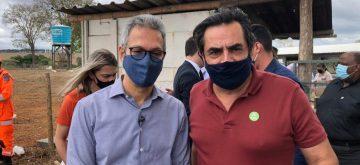 Em Papagaios, Zema reafirma compromisso para concluir obras do Hospital Regional de Divinópolis