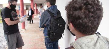 Protocolo rígido garante segurança na volta às aulas em Fabriciano