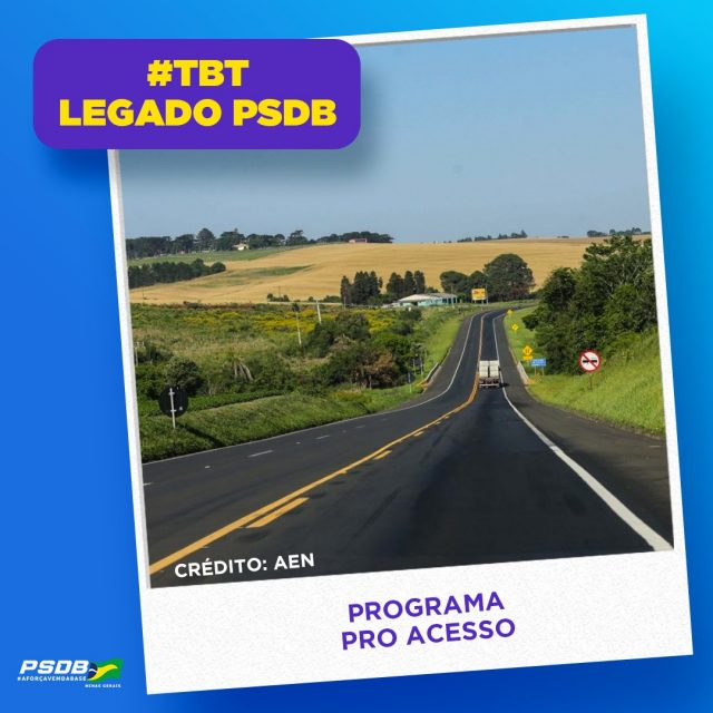 TBT LEGADO TUCANO - Programa Pro Acesso