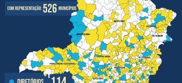 PSDB-MG reconduz diretório e executiva estaduais e renova direções nos municípios